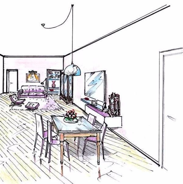 open-space-soggiorno - Arredamenti La Scaleia